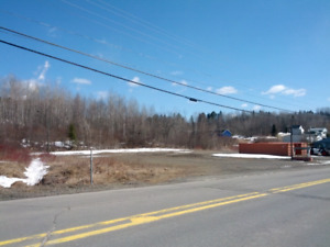 Nackawic lot with St.John River view - PRICE DROP FOR QUICK SALE