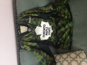 Toronto Maple Leafs Camouflage Jersey Men's Small