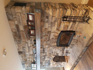 Cultured Stone 50 square feet. For outdoor or indoor.
