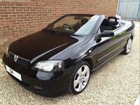 2004 Vauxhall Astra 1.8i convertible