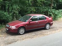Rover 45 1.6 petrol , good condition inside and out , low mileage