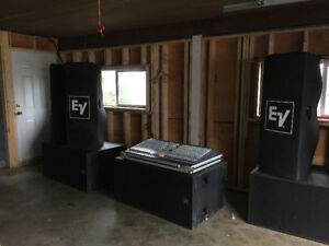 Complete Professional PA System