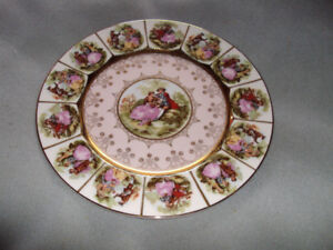 Vintage SAJI Fine China Plate Made in Japan