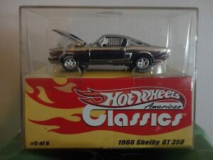 Hotwheels 1966 Shelby GT 350 Limited Edition