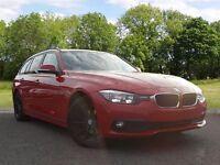 BMW 3 SERIES 2.0 320d ED Plus Touring 5dr (start/stop) (red) 2016
