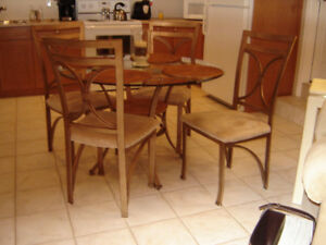 Glass Table/Four Chairs!!