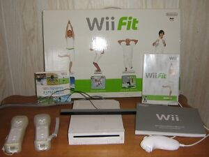 Wii game including sports CD and WiFit