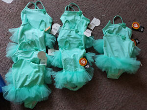 Brand New Kid's One-Piece $5 each 2T, 3T, 4T & Mermaid Costumes