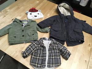 Boy winter gear