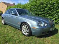 2004 54 Jaguar S-TYPE 2.5 V6 SE Auto 13 SERVICE STAMPS, IMMACULATE !! FACE LIFT