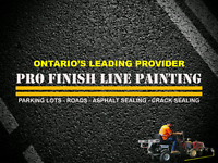 Professional Parking Lot Line Painting - Pavement Markings