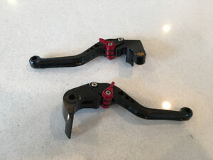 GSXR brake and clutch levers