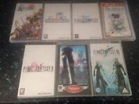 PlayStation PSP Final Fantasy games