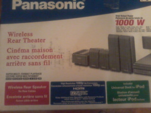 Home Theater Surround  Sound Speaker System Panasonic