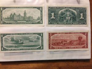 Various older Canadian bill/notes for sale Gatineau Ottawa / Gatineau Area image 2