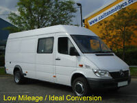 Mercedes Sprinter 413 CDi AWD Lwb High Roof window van Low Mileage 2003 / 03