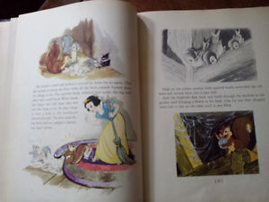 1937 Snow White And The Seven Dwarfs With Color Drawings Kitchener / Waterloo Kitchener Area image 7