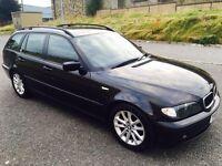 2005 Bmw 320D Se Black. Full Option.12 Months MOT. Swap P.x Welcome