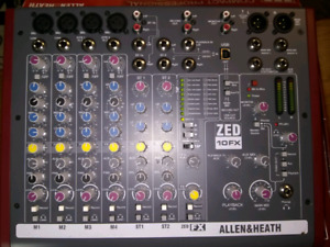 Allen and heath audio mixer