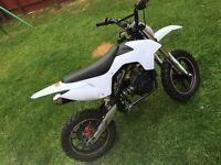 2 50cc mini motos