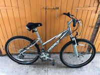 Ladies giant rock mountain bike