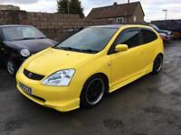 2003 Honda Civic 1.6 i-VTEC Sport Hatchback 3dr Petrol Manual (157 g/km,
