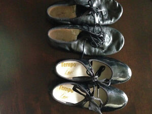 Tap shoes and Jazz shoes