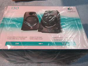 NEW Logitech Speakers Z130 Black Unopened. Computers, MP3 Player Kitchener / Waterloo Kitchener Area image 4