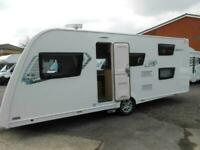2018 Elddis Explore 586 6 Berth Lightweight Touring Caravan , SOLD