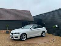2016 BMW 2 Series 2.0 218d Sport (s/s) 2dr Convertible Diesel Manual