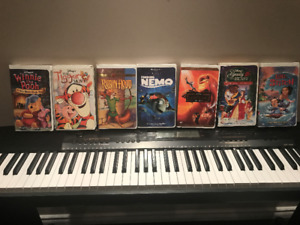 Walt Disney VHS tapes(Collectors items)