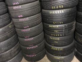 Tyre shop 255/35/20 255/50/19 255/40/18 225/40/18 205/65/15 20405/60/15 TYRES TIRES PARTTWORN