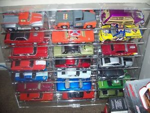 Over 100 1/24 diecast cars