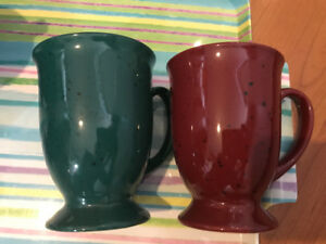 Set of 4 stem mugs