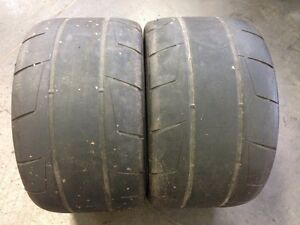 used pair 345/30R19 Nitto NT05R North Shore Greater Vancouver Area image 4