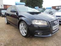 2008 58 AUDI A3 1.6 S LINE 5DR 101 BHP FINANCE WITH NO DEPOSIT AND NOTHING TO PA