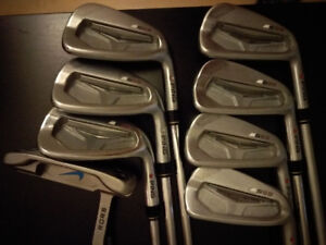 PING S55 red dot, 4 to PW and PING carry bag