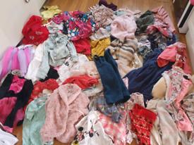 Girls 70 piece clothes bundle age 3/4