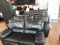 ASHLEY POWER RECLINING SOFA & LOVESEAT