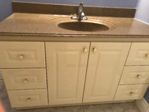 vanity sink with faucet