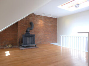 Inglis St by SMU,  light-filled attic apt, huge private deck