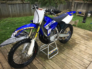 2016 YZ 250 2 stroke with OWNERSHIP