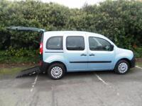 Renault Kangoo 1.6 16v auto Extreme WAV Wheelchair Accessible Vehicle