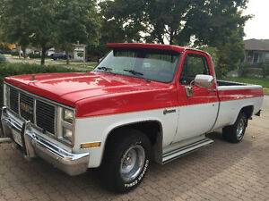 1987 GMC R1500 Wrangler Pickup Truck, Rare Model