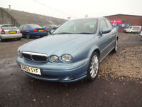 JAGUAR X-TYPE 2.0D S~05/2005~4 DOOR SALOON~5 SPEED MANUAL~STUNNING METALLIC BLUE