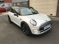 2015 MINI COOPER D 1.5TD DIESEL ( 116bhp ) ONLY 13000 MILES WITH FSH.