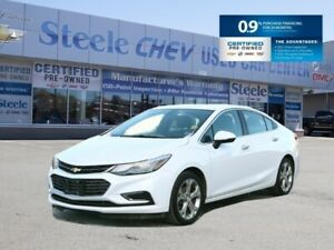 2018 CHEVROLET CRUZE PREMIER - With Available 0% INTEREST!!!