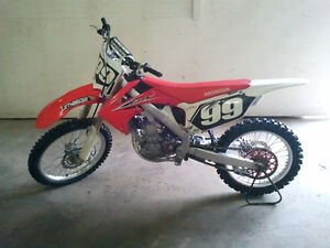 Reduced 2012 Honda CRF250R
