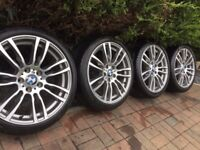 BMW 403M ALLOY WHEELS - IMMACULATE CONDITION