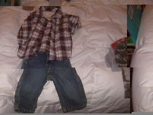 vêtements 0-6mois et autres articles pour nouveau-né garçon